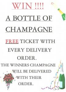 champagne prize draw